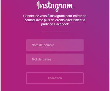 Lier sa page Facebook à son compte Instagram